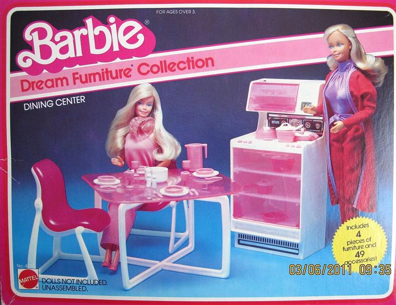 Barbie Dream Furniture Collection Dining Center